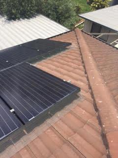 Pigeon control solar panel sealing 4