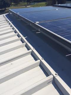 Solar panel sealing 1